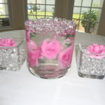 water gel crystal vases