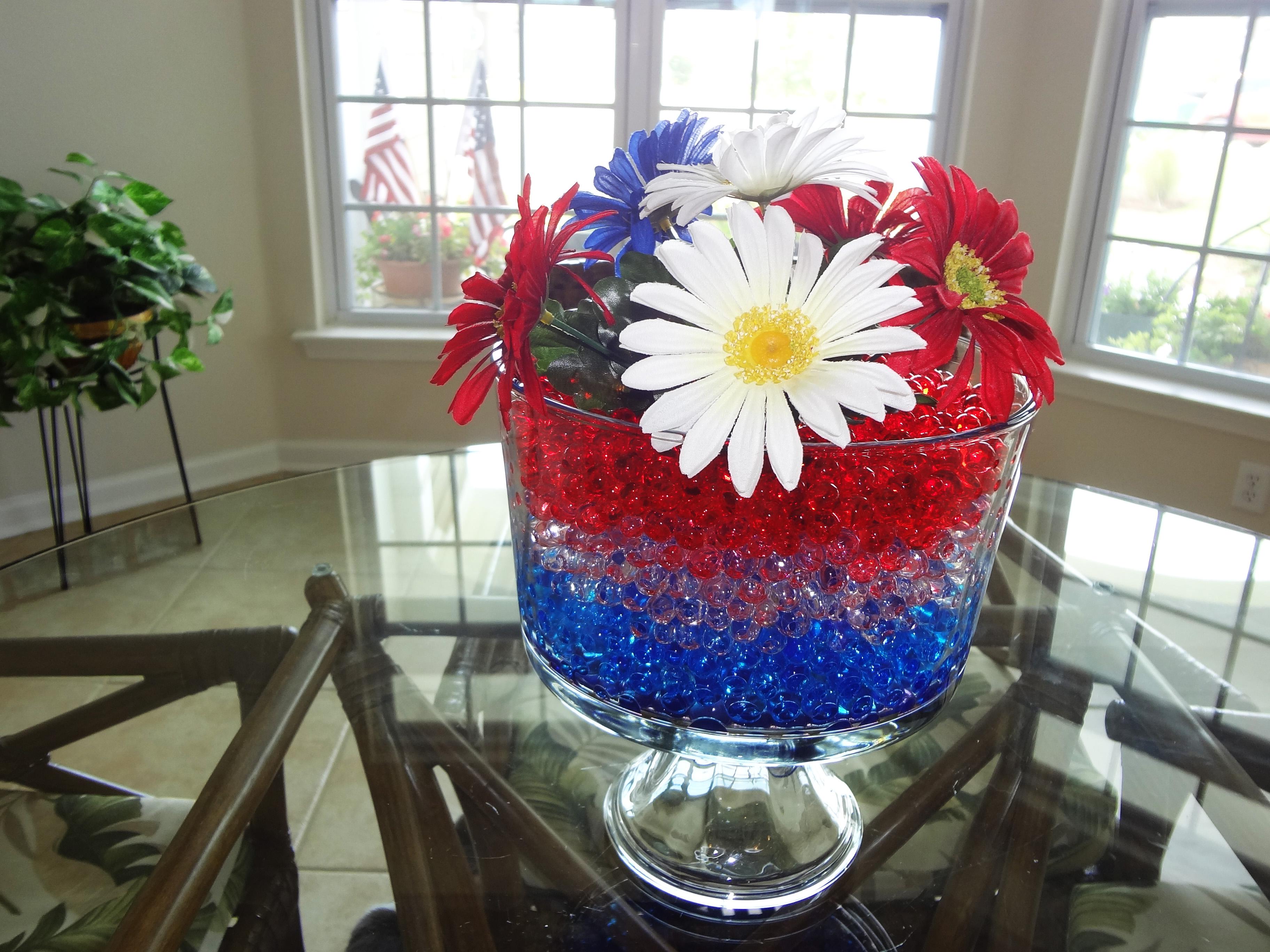 Patriotic Water Beads