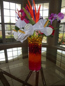 Wedding Centerpiece Tropical