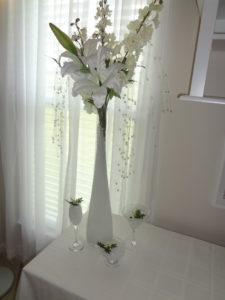 Elegant Wedding Centerpiece White