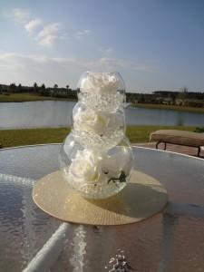 Great wedding centerpiece idea